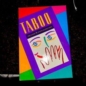 Taboo game - vintage - like a new